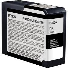 <b>Epson</b> UltraChrome K3 <b>Photo Black</b> Ink Cartridge (80 ml) T580100