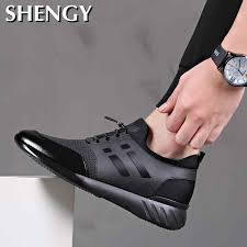 2020 <b>Men's Sneakers</b> Quality <b>Shoes 6CM Increasing</b> British <b>Shoes</b> ...