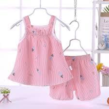 <b>Baby Girl</b> Summer Clothes Sets 2PCS Cotton Kids <b>Baby Girl</b> ...