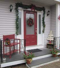 christmas decorations ideas front green