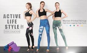 Witkey Printed Extra Long Women Yoga Leggings ... - Amazon.com