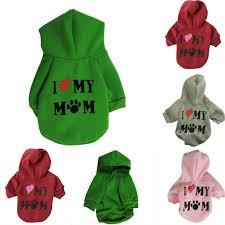 Shop <b>Pet Dog</b> Sweater Soft <b>Dogs Clothes</b> Sports Hoodie Jumper ...