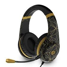 CLASSIC <b>GOLD ABSTRACT</b> EDITION STEREO GAMING HEADSET ...