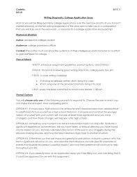 sample college admissions essay