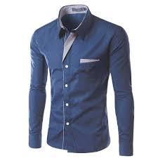 China <b>2017 New Fashion</b> Brand Camisa Masculina Long Sleeve ...