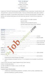 technician resume resume badak electronic technician resume
