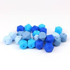 <b>TYRY</b>.<b>HU 20pcs 14mm Silicone</b> Beads For Teething Necklace Baby ...