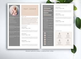 20 Resume Templates That Look Great In 2015 ~ Creative Market Blog Resume template for MS Word