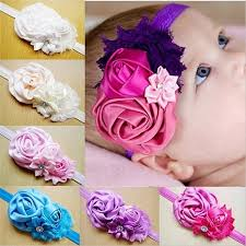 Buy Chiffon Flower <b>Hair Band</b> Lovely Princess <b>Lace</b> Hair ...