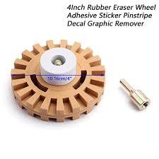 Car Universal 4Inch Rubber Eraser Wheel Adhesive ... - Amazon.com