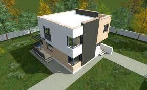 Cheap Flat Roof House Plans   Economical Choices   Houz BuzzCheap Flat Roof House Plans   Economical Choices