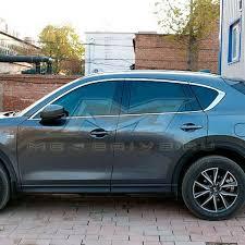 Хром <b>молдинг боковых окон</b> (верхний) Mazda CX-5 2017 2018 ...