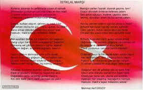 bayrak içerisinde istiklal marşı ile ilgili görsel sonucu