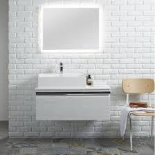 rhodes pursuit mm bathroom vanity unit: roper rhodes pursuit mm alpine elm vanity unit amp worktop