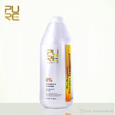 <b>PURC Brazilian Keratin</b> Hair Treatment <b>Formalin</b> 8% 1000ml Hot ...