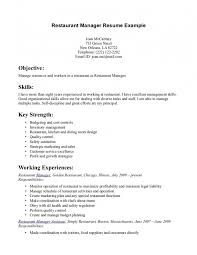 resume examples for restaurant server samples of resumes restaurant server sample resume