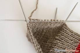 Вязание <b>носка</b> - набор петель из кромочных для боковых частей ...