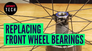 How To Change The Bearings In Your <b>Mountain Bikes Front</b> Wheel ...