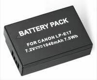 «<b>Аккумулятор LP</b>-<b>E17</b> для Canon EOS 750D/760D/M3/M5 (PVB ...