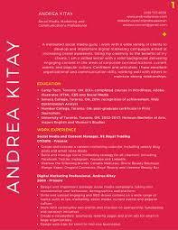 resume who is andrea kitay 1 2