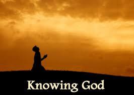 Image result for image of knowing God