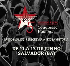Resultado de imagem para quinto congresso nacional do pt