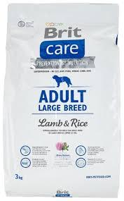 Купить <b>Сухой корм</b> для собак <b>Brit Care</b> ягненок с рисом 3 кг (для ...