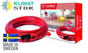 Электрический <b>теплый пол Thermo SVK-20</b>, кабель (Швеция) 8м ...