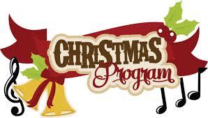 Image result for christmas program free clip art