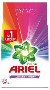 <b>Стиральный порошок</b> автомат «<b>Color</b>» <b>Ariel</b>, 3 кг - купить по цене ...