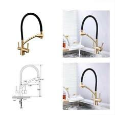 <b>GAPPO</b> Gold <b>Kitchen Faucet</b> Pull Out Kitchen <b>Sink Faucet</b> Dual ...