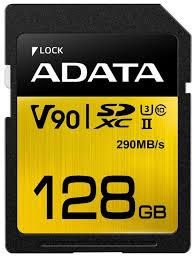 <b>Карта памяти ADATA</b> Premier ONE SDXC UHS-II U3 Class 10 <b>128GB</b>