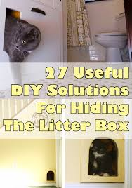 view this image cat litter cabinet diy