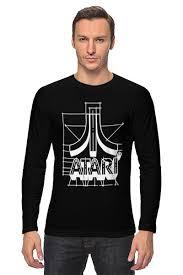 Лонгслив Логотип АТАРИ - ATARI logo #700935 от Mourad ...