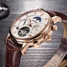 BINSSAW <b>Men</b> Watch Mechanical Tourbillon Luxury Fashion Brand ...