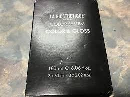 <b>la biosthetique</b> Paris color system color & gloss new 3X60ml new ...
