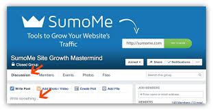 using facebook marketing for massive site traffic a sumo facebook marketing