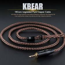 <b>KBEAR</b> MMCX/2Pin/QDC <b>Pure Copper 16</b> Cores Earphones ...