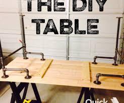black iron pipe table black iron pipe table