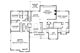Ranch House Plans   Manor Heart     Associated Designs    Ranch House Plan   Manor Heart     Floor Plan