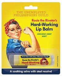 <b>The Unemployed Philosophers Guild</b> Lip Balm - Rosie - Bad Annies