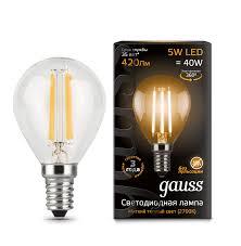 Remarkable, very <b>Лампа</b> светодиодная <b>gauss 106001204</b>, E14 ...