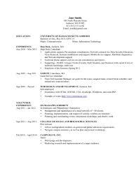 sample resume customer service information technology sampleresume