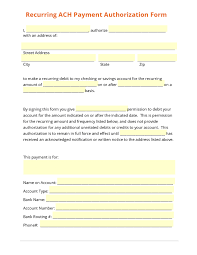doc payment form template credit card ach vendor recurring ach payment authorization form template eft 28b3398fabef416c51f09d47d07b9213 payment form template template large