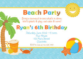 beach party invitation template ctsfashion com beach party invitations theruntime