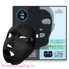 <b>Антивозрастная тканевая маска</b> Scinic Black Dual Mask Aqua ...