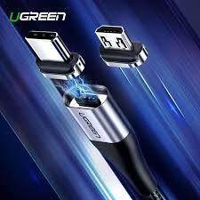 <b>Ugreen Magnetic</b> Micro USB <b>Cable</b> 2.4A Fast <b>Charging</b> Data <b>Cable</b> ...