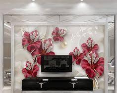 <b>Beibehang</b> photo wall mural wallpaper Orchid <b>exquisite three</b> ...