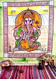 Lord Ganesh <b>Tapestry spiritual</b> wall decor Hindu Wall <b>tapestry</b> ...