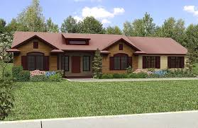 One Story House Plans With Front And Back Porch